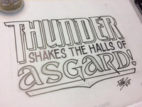 Thunder Shakes the Halls of Asgard
