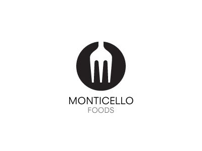 Monticello Logo logo food logotype