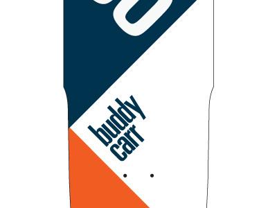 Buddy Carr Model skateboard grip deck buddy carr print univers