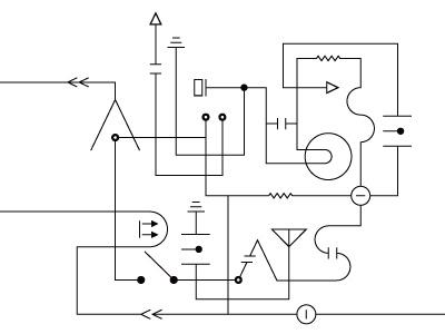 All Those Relays Progress design print cd music relay circuit