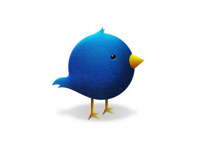 Twitter Icon icon twitter bird app fluid