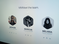 MMMeet the team