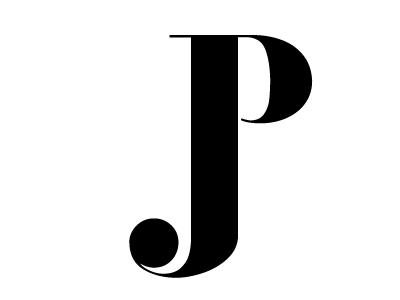 J.P. monogram
