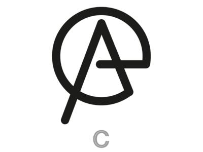 E.A. monogram