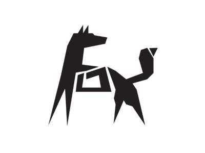 Fox 🦊 cooperbility brand logo words natural urban wildlife wild angles shapes writing typography type fox