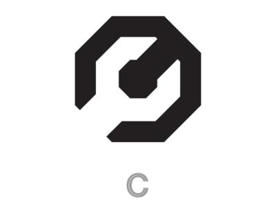 Crank it cooperbility brand logo angular c engineering mechanical tools spanner