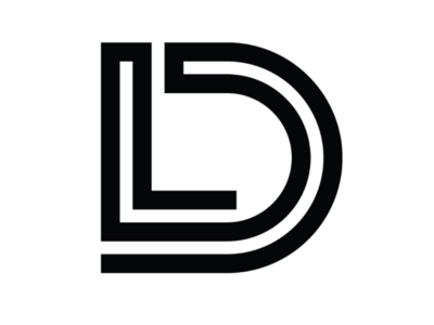 LD cooperbility brand logo simple lines shapes typography type lettering monogram d l ld