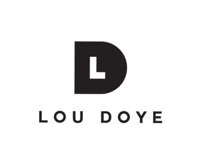 LD, 3 cooperbility brand logo simple lines shapes typography type lettering monogram d l ld