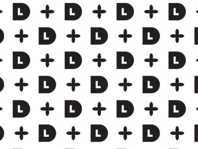 LD wallpaper cooperbility brand logo simple lines shapes typography type lettering wallpaper monogram d l ld
