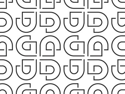 LD chosen design wallpaper cooperbility brand logo elegant classy simple lines shapes typography type lettering wallpaper monogram d l ld