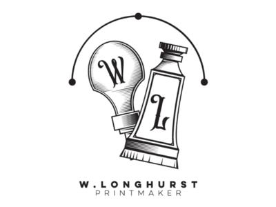 Longhurst printmaker cooperbility brand print roller tube ink logo lino printing printmaker
