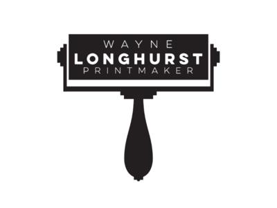 Longhurst printmaker cooperbility brand lino roller logo printmaker printing print