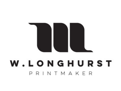 W.L. printmaker cooperbility design brand logo creative create mark symbol monogram print printmaker wl