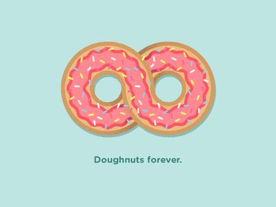 Doughnuts forever donut texture illustration forever doughnuts