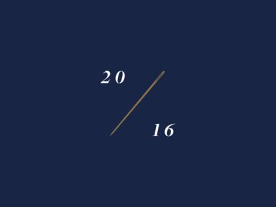 20 / 16 16 20 2016 needle gold