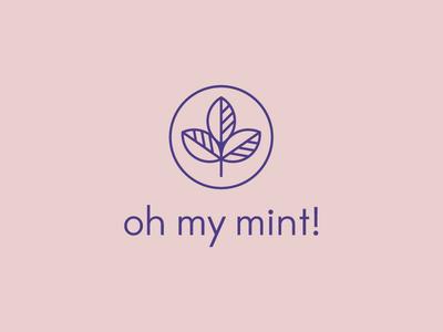 oh my mint finance wellness pink mint