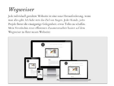 Responsive Roadmap responsive webdesign portfolio smartphone tablet display roadmap
