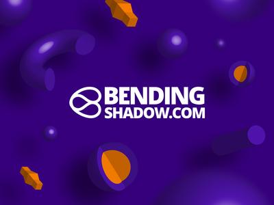 Bending shadow Logo
