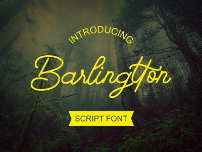 Barlingtton - Script Font