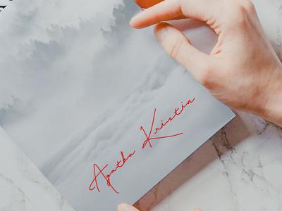 Novel Writer Signature