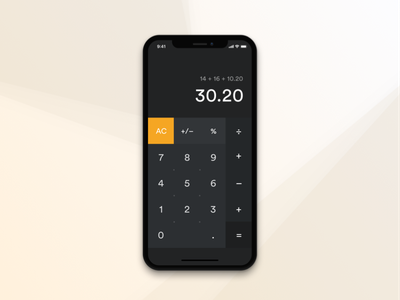Daily UI Challenge - Calculator 02 002 checkout uielements ui sketch dailyui