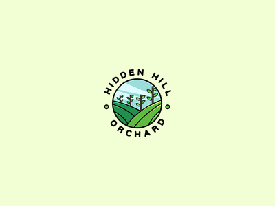 Hidden Hill Orchard logo