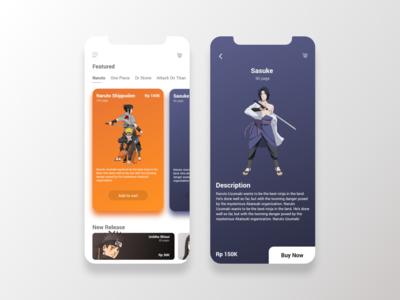 UI Concept Comic App
