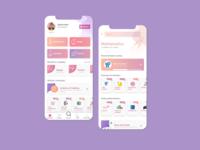 UI App Education Concept