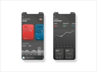 Dark Mode Fit App