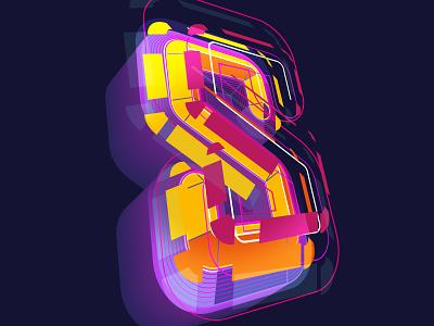 S illustrator cc lettering vector