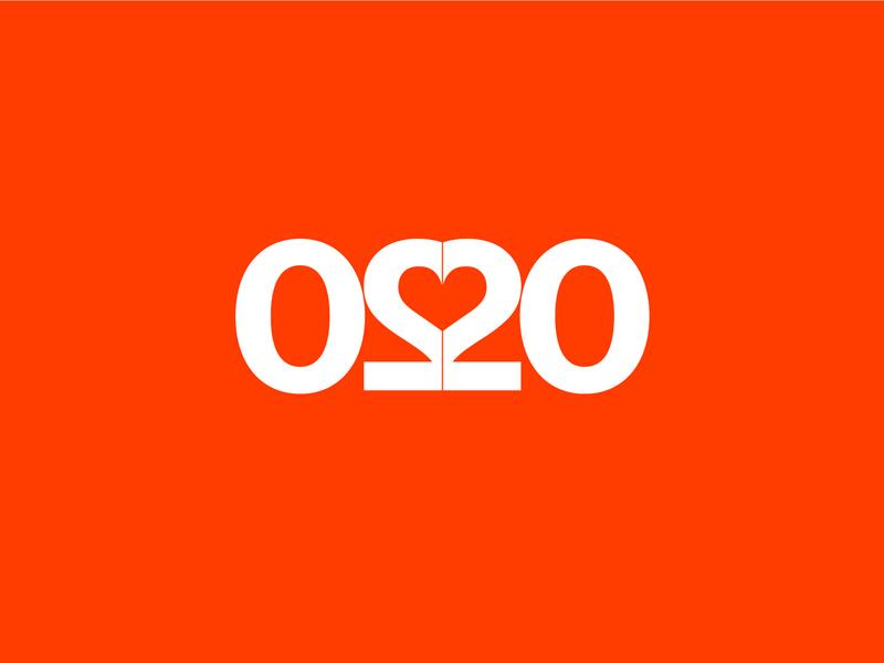 2020 vector design lettering 2020 logo typography illustrator