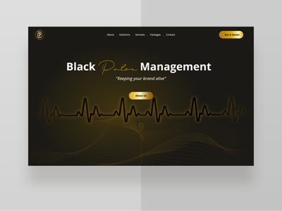 Single Page UI design ui minimal web design custom wordpress theme uiux