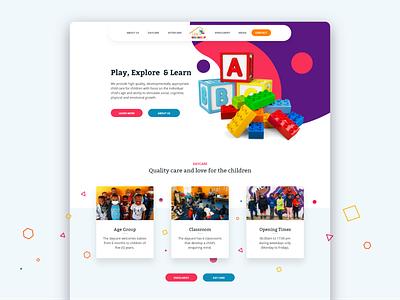 Learners Landing Page UI design ui custom design web design uiux