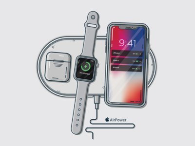 AirPower - Apple🍎 Wireless Charger 🔋