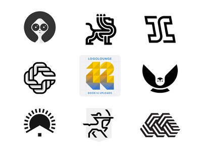 Some uploads for LogoLounge 12 brandidentity miladrezaee symbol mark monogram m sagittarius bird sunset sunshine sunrise home c owl lettermark alien lion logo logolounge