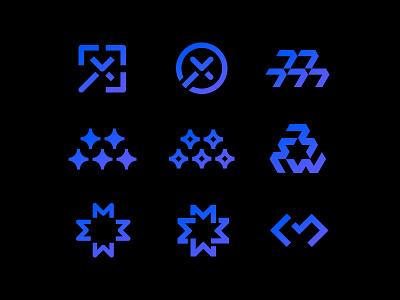 Mojo Framework logoexploration mdc internet web framework css developer lettermark branding logoinspiration monogram symbol mark design miladrezaee logodesign logo mojo magic