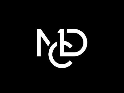 MDC miladrezaee logotype branding mark design logodesign brand personallogo lettermark monogram logo artist painter micheledelcampo