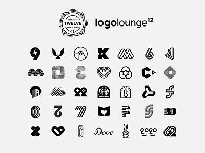 LogoLounge 12 animal badge heart fish bird logotype lettermark number monogram miladrezaee mark symbol logodesign logofolio award brandidentity design logo logoloungebook12 logolounge