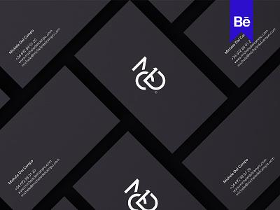 MDC logotype lettermark graphic branding mark monogram design miladrezaee logodesign personal logo mdc