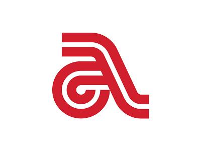 A logoinspiration symbol mark logotype logodesign branding miladrezaee mdc monogram wordmark design logo lettering lettermark a