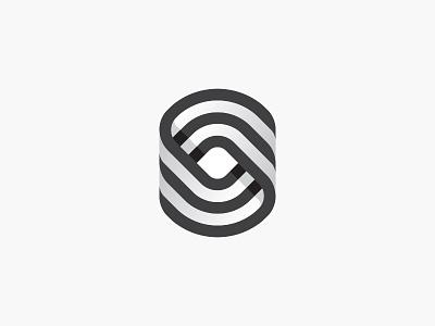 Sync shape geometric mdc symbol letter lettermark logotype logodesign monogram mark miladrezaee logoinspiration design logo sync s