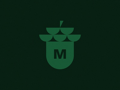 Acorn minimalist logoinspiration lettermark graphic branding design logodesign symbol mark oak logo acorn