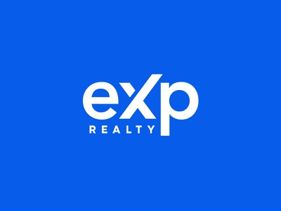 eXp realty mdc logodesign house realstate home miladrezaee lettemark logo exprealty exp