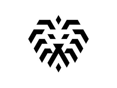 Lion linelogo brand design logodesign lionlogo logo lion