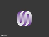 U + N letter mark