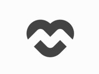 M + Heart 🖤