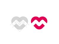 M + Heart grid