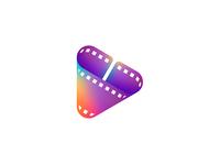C / Film Strip / Play Icon