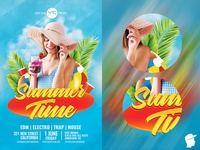 Summer Time 2018 Flyer Template