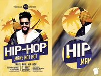 Hip-Hop Party Flyer Template